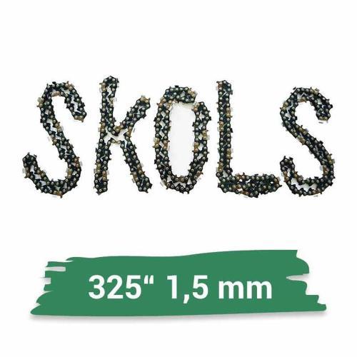 """45cm Schwert .325/"""" 2 Ketten 72TG 1,5mm für Jonsered 520"""